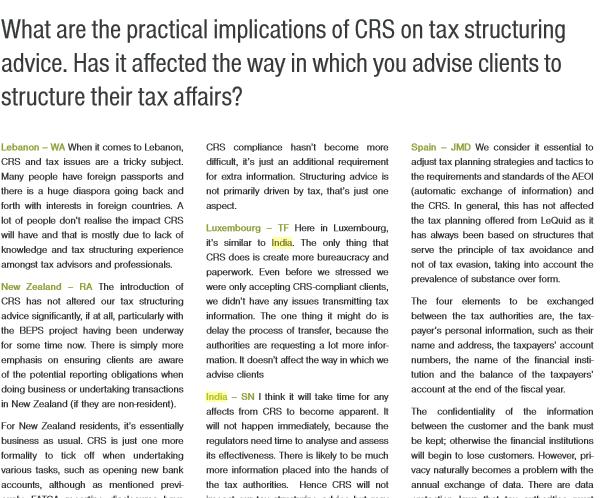 Suraj Nangia - Nangia & Co LLP - CRS Regulations & Tax Structuring