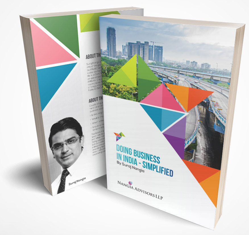 Suraj Nangia a Book Doing Business in India
