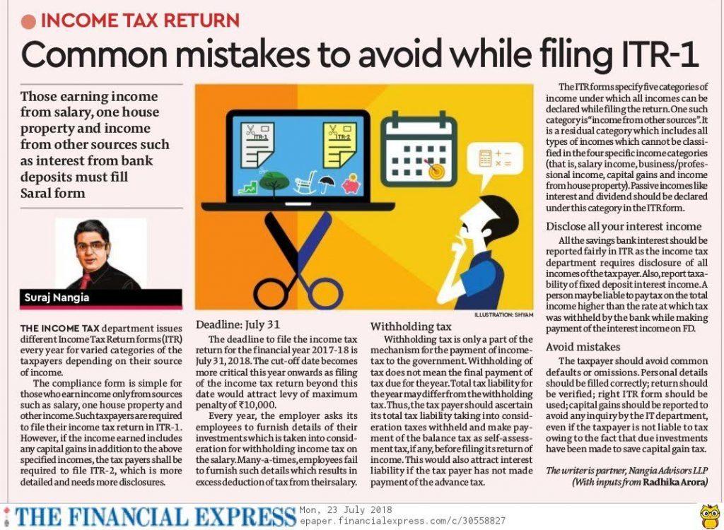 Common-Mistakes-Filing-ITR1-Suraj-Nangia